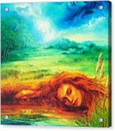 Awakening Blue Acrylic Print