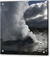 Awakening In Yellowstone Acrylic Print