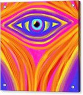 Awakening The Desert Eye Acrylic Print