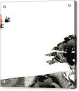 Awakening - Zen Landscape Art Acrylic Print