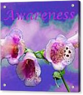 Awareness Acrylic Print
