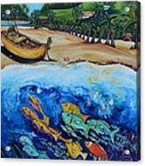 Away With The Fishes Acrylic Print