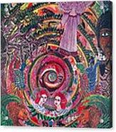 Aya Muyuywairu Tornado Espiritual Acrylic Print