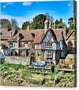 Aylesford Village Acrylic Print