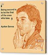 Ayrton Acrylic Print