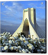 Azadi Tower In Tehran Acrylic Print