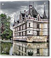 Azay-le-rideau Acrylic Print