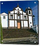 Azorean Church Acrylic Print