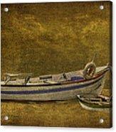 Azorean Fishing Boats Acrylic Print
