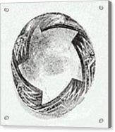 Aztec Bowl Acrylic Print