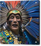 Aztec Dance Acrylic Print