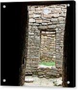 Aztec Doorway Acrylic Print