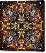 Aztec Treasure Acrylic Print