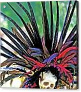 Aztecan Ceremony 15 Acrylic Print