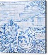 Azulejos Traditional Tiles In Porto Portugal Acrylic Print