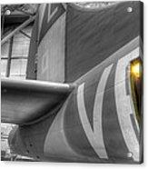 B-17 Bomber Tail Acrylic Print
