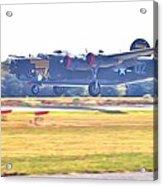 B-24 Landing Acrylic Print