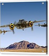 B-25 Mitchell Bomber Acrylic Print