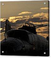 B-25 Sunset Acrylic Print