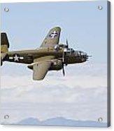 B-25j Mitchell Acrylic Print