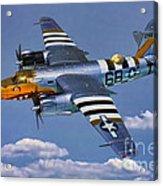 B-26b Marauder Acrylic Print