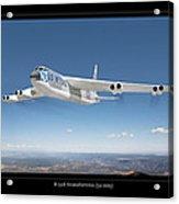 B-52b Stratofortress Acrylic Print