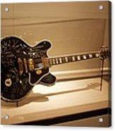 B B King Guitar Acrylic Print