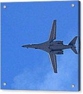 B1-b Lancer In The Skys Over Las Vegas Acrylic Print