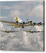 B17 486th Bomb Group Acrylic Print
