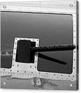 B17 50 Cal Machine Gun Acrylic Print