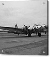 B17 Bomber Parked Acrylic Print