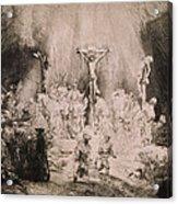 The Three Crosses, Circa 1660 Acrylic Print