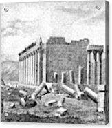 Baalbek Aka Heliopolis, 1845 Acrylic Print