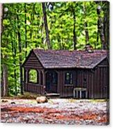 Babcock Cabin Acrylic Print