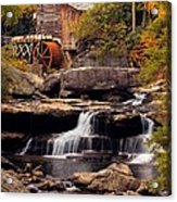 Babcock Grist Mill And Falls Acrylic Print