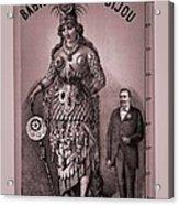 Babil And Bijou - Giant Amazon Queen Acrylic Print