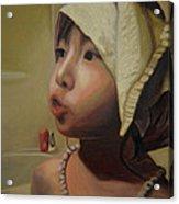 Baby Bath Mama Acrylic Print