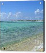 Baby Beach Aruba Acrylic Print