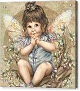 Baby Berry Fairy Acrylic Print