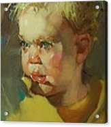 Baby Blue Eyes Acrylic Print