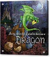 Baby Dragon Acrylic Print