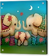Baby Elephant Acrylic Print by Karin Taylor