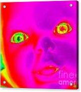 Babyface Acrylic Print
