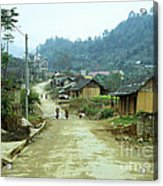 Bac Ha Town Acrylic Print