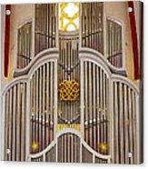 Bach Organ Leipzig Acrylic Print