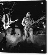 Bachman-turner Overdrive Smokin In Spokane 1976 Acrylic Print