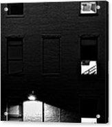 Back Alley 330am Acrylic Print by Bob Orsillo