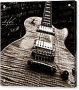 Back Alley Blues Acrylic Print