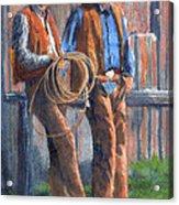 Back At The Ranch Acrylic Print