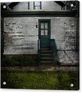 Back Door Acrylic Print